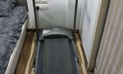 Black Treadmill , Cosco Brand, Imported, In very good