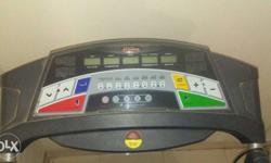 Black Treadmill Dashboard