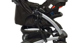 Black color, used Graco stroller, bought from