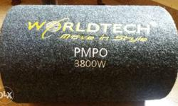 Black Worldtech Move In Style PMPO 3800