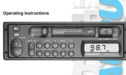 Blaupunkt Car stereo. AM and FM channels. 20 presets