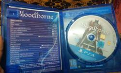 Bloodborne Ps4 used in excellent condition
