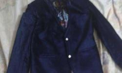 Selling party wear coat Colour : blue Material :