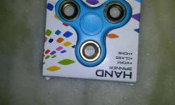Blue 3-blade Hand Spinner With Box