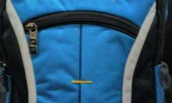 Blue And Black Campusbags Backpack