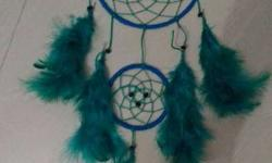 Blue And Green Dream Catcher