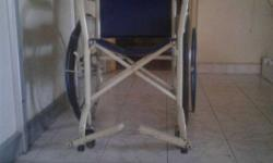 Blue And White Wheelchair
