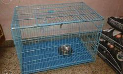 3 ft new Blue Metal Dog cat cage 82000call41313