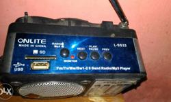 Blue Onlite Mp3 Player