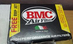 BMC original airfilter with rrp jet screw. Suitable for