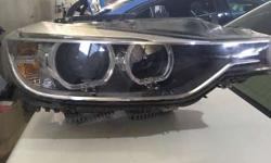 BMW 320d right side headlight