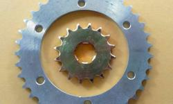 Bobby (GTS) Chain sprocket set with Rolon Chain.