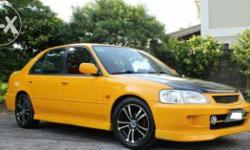 four side skirts / body kit for honda city available
