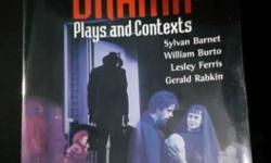Book :types of drama: plays and context