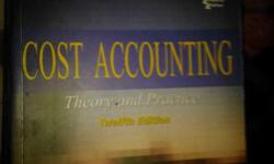 Books available ,cost account,management, finances