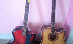 both guitar are good condition