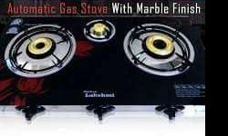 Brand new 3 burner fully automatic lpg gas stove