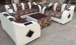 Brand new 7 siter sofa set good quality use with center