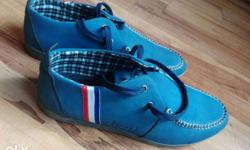 Blue shoes. Very Stylish. Brand new. Size 41. NOT WORN
