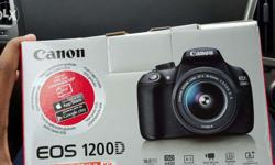 Brand new canon DSlR EOS 1200d for sale with box and