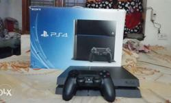 Brand new condition scratchless 500gb ps4 with bill box