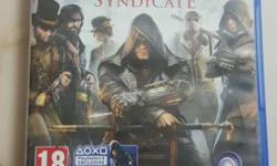 Brand new game for ps4 (Assassin's creed Syndicate) at