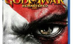 brand new god of war 3 remastered PS4 game for sale
