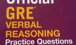 brand new gre verbal reasoning practise questions