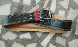 Brand new Gym leather belt for sale