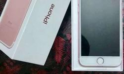 Brand new i phone 7 8 months with warranty 50000 price