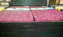 Brand new King size Double bed with box high finish