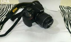 Brand new nikon camera D 3200 for sale. It is under