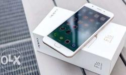 Brand new oppo f1s only 2 month old with bill and other