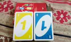 brand new packed UNO playing cards plastic packed not