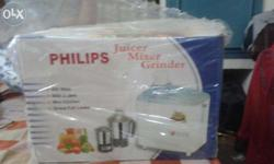 Juicer mixer grinder with packing. 2 jars