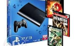 3 Nos. Brand new Playstation 3 available for sell in