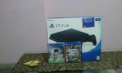 Brand new ps4 Slim 1TB with all assecories and with 2