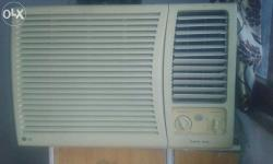 LG air condition available for sale in good