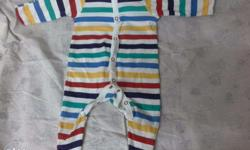 Branded jumpsuits (3) available for babies 3-6 months