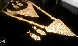 Gold Platted Immitation Jewellery Imported 1grm gold