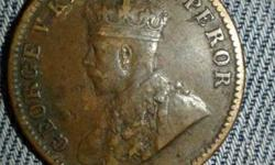 Brass George King Emperor Coin