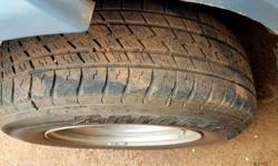BRIDGESTONE tyres 265 /65/17 Suitable for xu500,