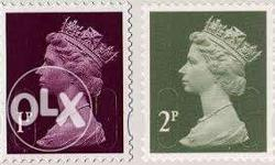 British commemorative stamps... 12colours..