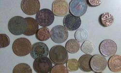 British Era set of 30 coins for sell. in very cheap