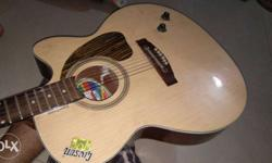 Brown Givson Cutaway Acoustic Guitar