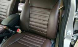Brown Leather Car Front Seat