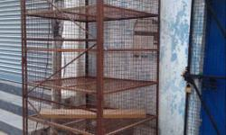 Brown Metal 5-layered Metal Cage size 6 ft height and