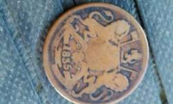 Brown Round 1835 Commemorative Coin