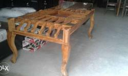 Brown Wooden Table Frame
