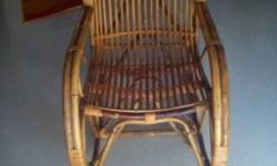Browqn Woven Rocking Chair